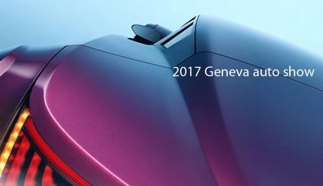2017 Geneva auto show logo