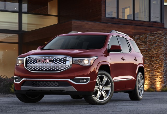2017 Gmc Acadia Trims Down As Gm Plans For Less Product Overlap