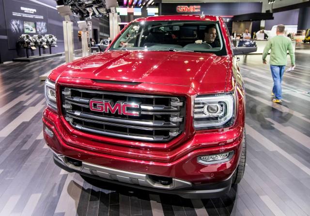 2017 GMC Canyon Denali, 2015 Los Angeles Auto Show