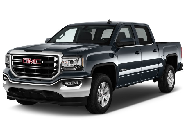 2017 Gmc Sierra 1500 2wd Crew Cab 143 5 Sle Angular Front Exterior View Reviews Specs Photos Inventory