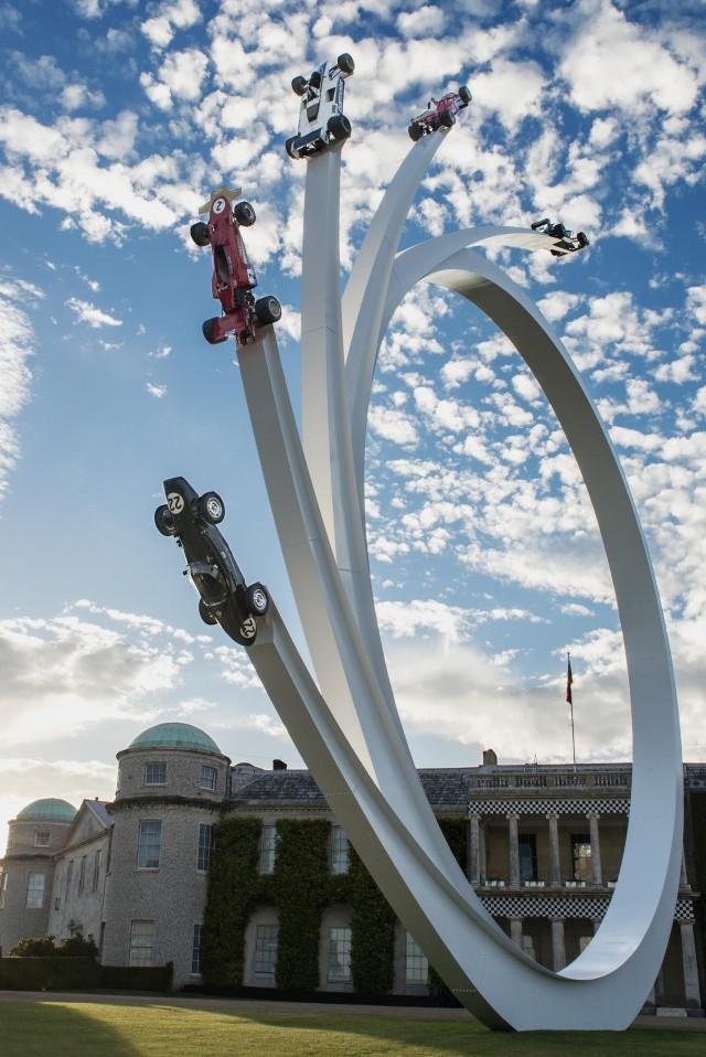 2017 Goodwood Festival of Speed sculpture
