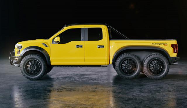 Hennessey VelociRaptor 6x6, Ford F-150 RTR, Mercedes B-Class spy shots: Car News Headlines