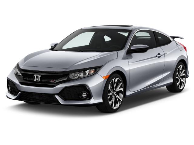 2017 Honda Civic Coupe Si Manual Angular Front Exterior View