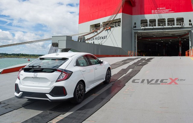 2017 Honda Civic Hatchback leaked - Image via Image via CivicX