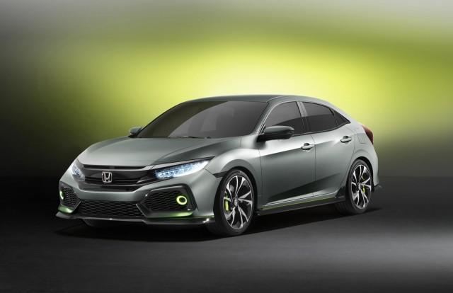 2017 Honda Civic Hatchback prototype, 2016 Geneva Motor Show
