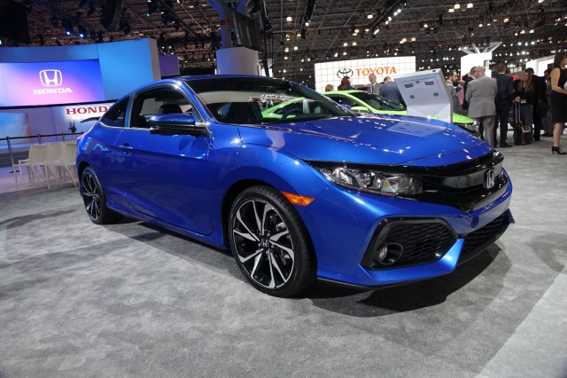 2017 honda civic si and civic si coupe revealed with 205 horsepower. Black Bedroom Furniture Sets. Home Design Ideas