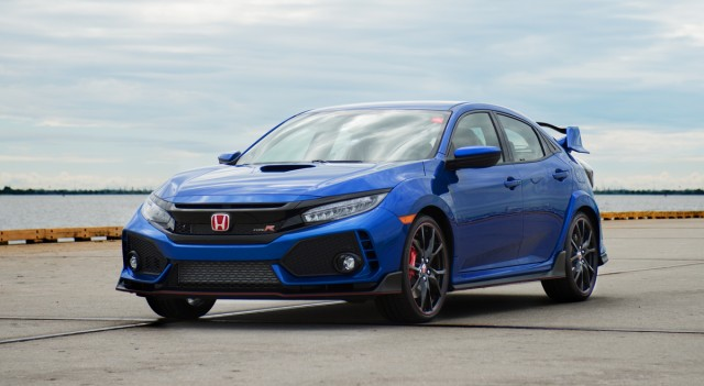 2017 Honda Civic Type R with VIN ending in 001
