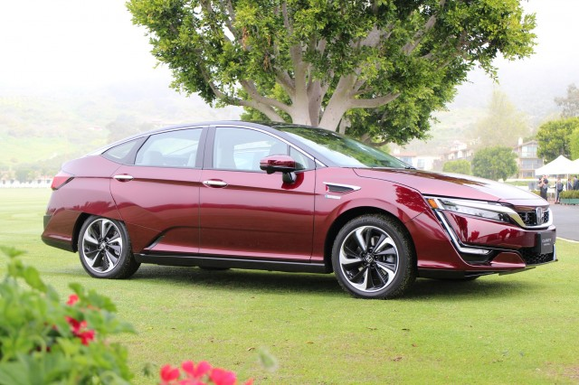 2017 Honda Clarity Fuel Cell, Santa Barbara, CA, March 2017