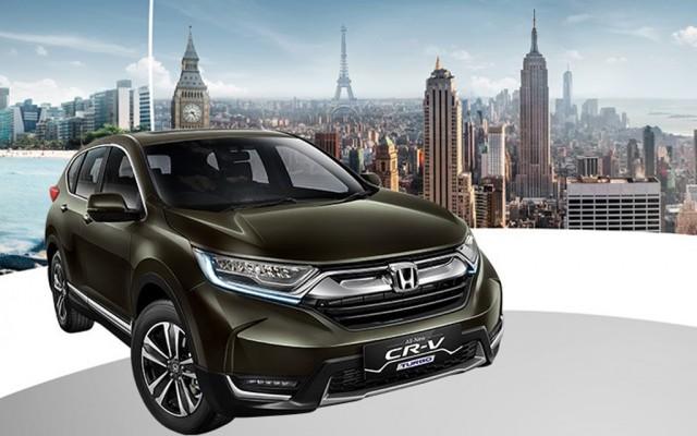 2017 Honda CR-V seven-seater (Indonesian spec)