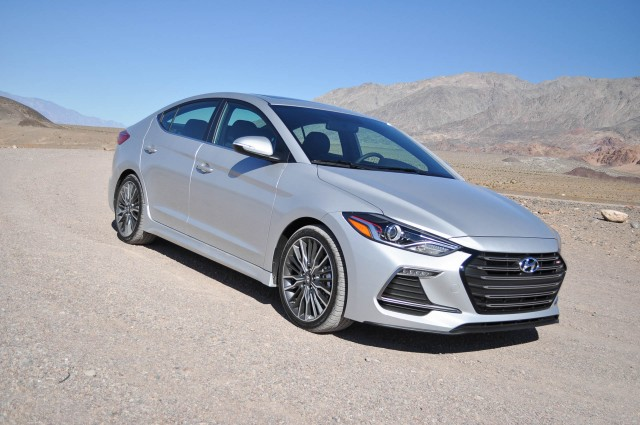 We Buy Used Cars >> 2017 Hyundai Elantra Sport first drive: close encounter of ...