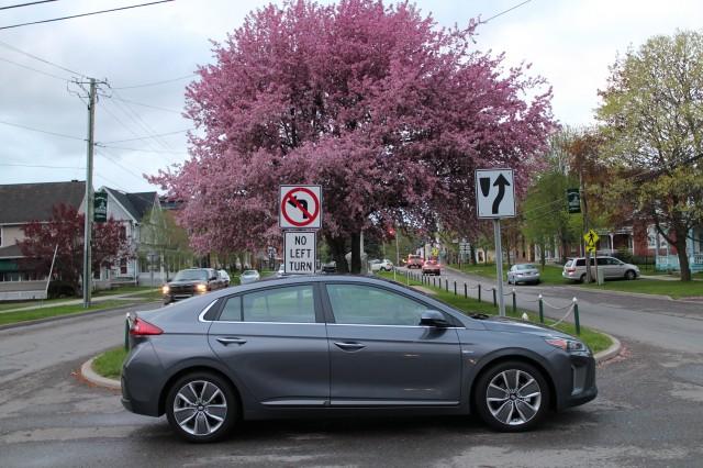 2017 Hyundai Ioniq Hybrid Limited, Catskill Mountains, NY, May 2017
