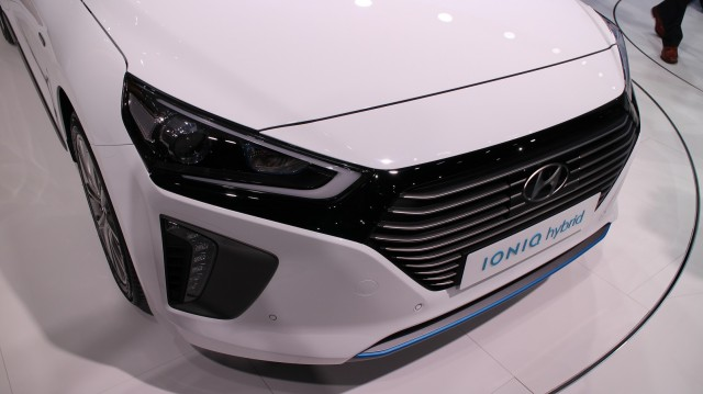 2017 Hyundai Ioniq launch at 2016 Geneva Motor Show