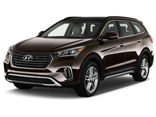 2017 hyundai santa fe review ratings specs prices and photos the car connection. Black Bedroom Furniture Sets. Home Design Ideas