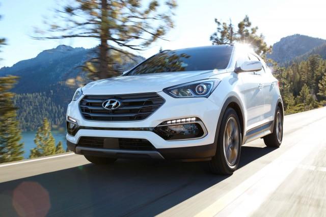 2017 Hyundai Santa Fe Sport Vs Kia Soo Compare Cars