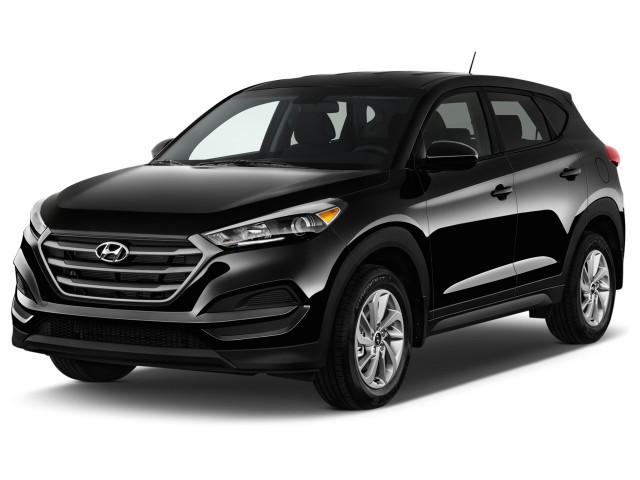 2017 Hyundai Tucson SE FWD Angular Front Exterior View