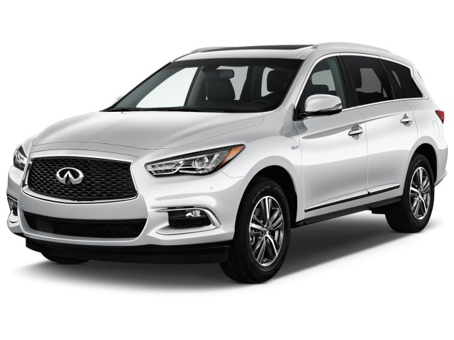 2017 INFINITI QX60 Hybrid FWD Angular Front Exterior View