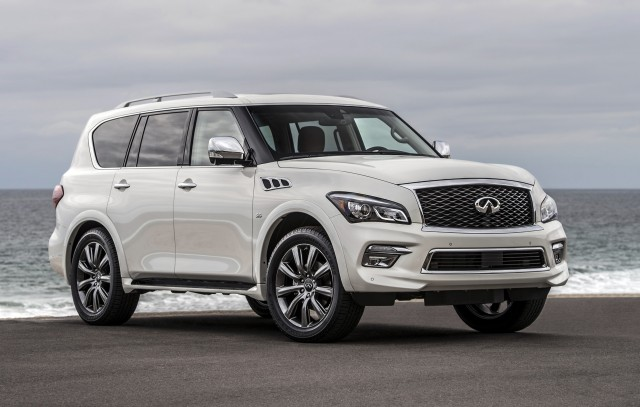 2017 INFINITI QX80 Review, Ratings, Specs, Prices, and Photos - The Car Connection