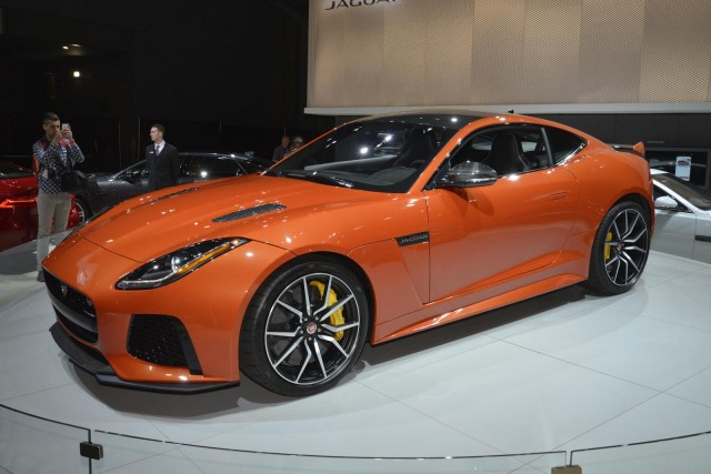 2017 Jaguar F-Type SVR. 2016 New York Auto Show