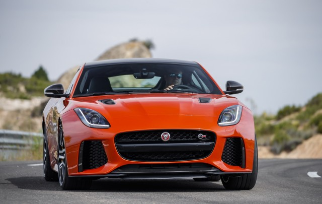 2017 Jaguar F-Type SVR first drive review