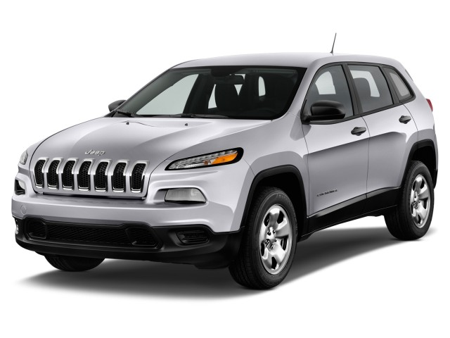 2017 Jeep Cherokee Sport FWD Angular Front Exterior View