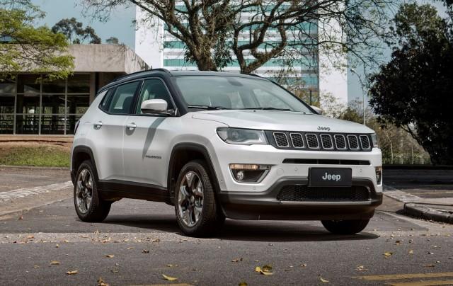 2017 Jeep Compass Limited (Brazil spec)