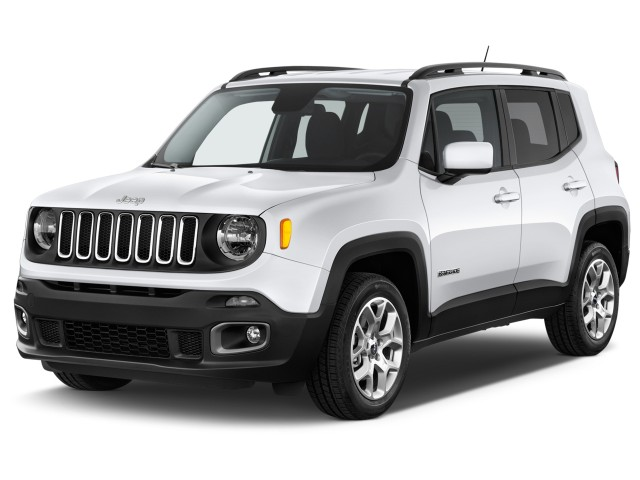2017 Jeep Renegade Latitude FWD Angular Front Exterior View