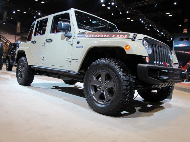 2017 Jeep Wrangler Unlimited Rubicon Recon Chicago Auto Show