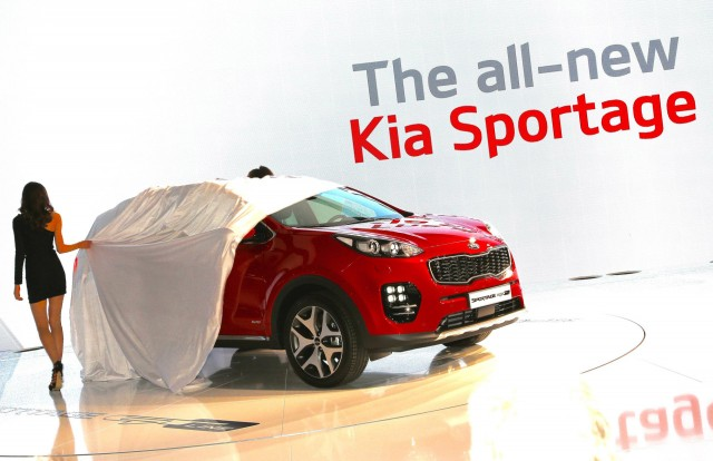 2017 Kia Sportage (European spec), 2015 Frankfurt Auto Show