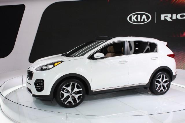 2017 Kia Sportage, 2015 Los Angeles Auto Show