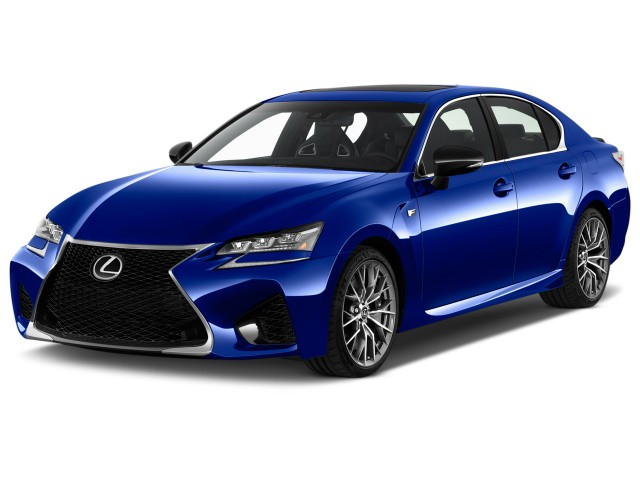 2017 Lexus GS F RWD Angular Front Exterior View