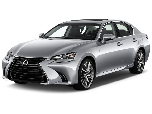 2017 Lexus GS GS 350 RWD Angular Front Exterior View