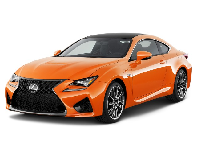2017 Lexus RC F RWD Angular Front Exterior View