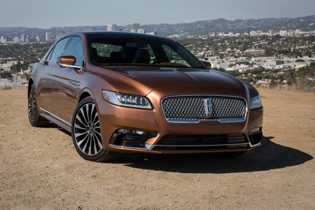 2017 lincoln continental first drive review. Black Bedroom Furniture Sets. Home Design Ideas