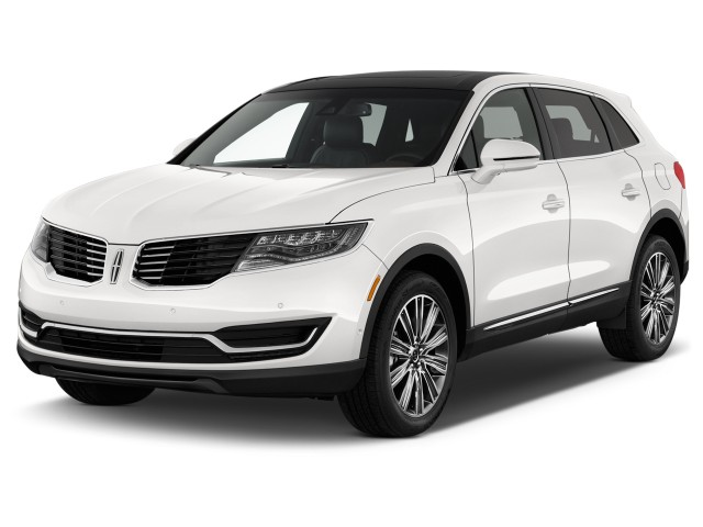 2017 Lincoln MKX Black Label FWD Angular Front Exterior View
