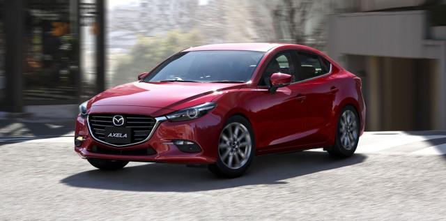 2017 Mazda 3 (Japanese spec)