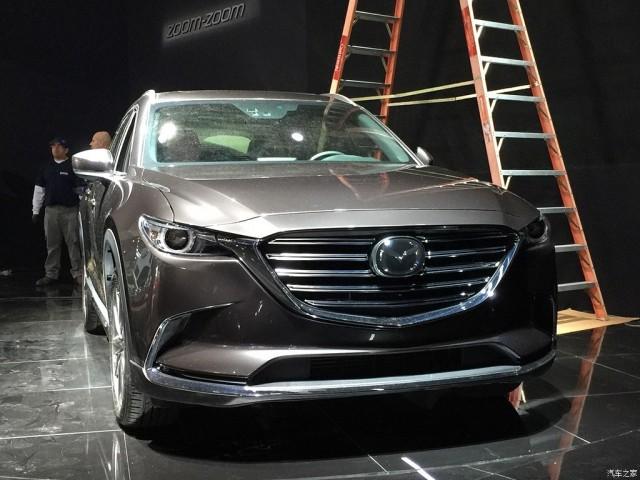 2016 Mazda CX-9 leaked - Image via Autohome