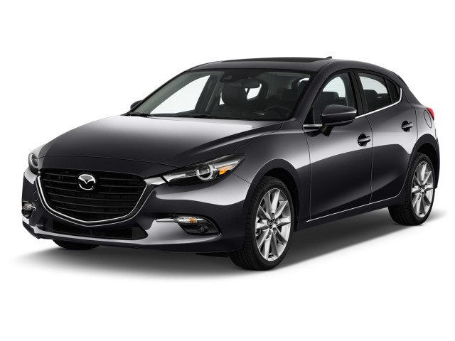 2017 Mazda Mazda3 5-Door Grand Touring Manual Angular Front Exterior View