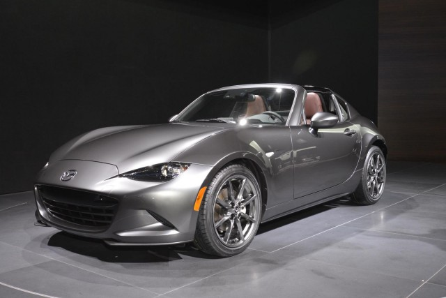 2017 Mazda Mx 5 Miata Rf 2016 New York Auto Show