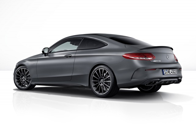 2017 Mercedes-AMG C43 Coupe with AMG Performance Studio Package