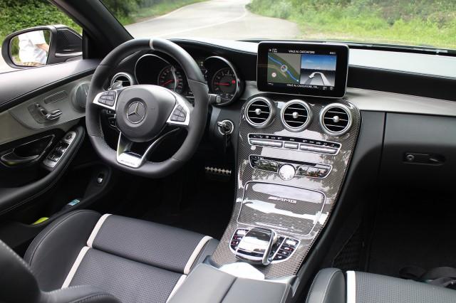 2017 Mercedes-AMG C63S Cabrio (European version), Trieste region, May 2016