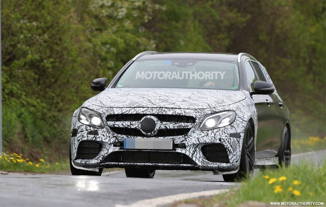 2017 Mercedes-AMG E63 Wagon (Estate) spy shots - Image via S. Baldauf/SB-Medien