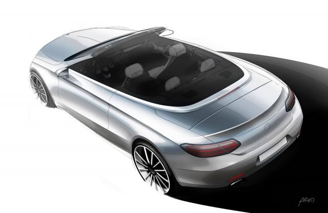 2017 Mercedes-Benz C-Class Cabriolet teaser