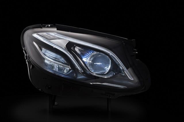 2017 Mercedes-Benz E-Classmultibeam LED headlight, Tech Day presentation, Germany, Jul 2015
