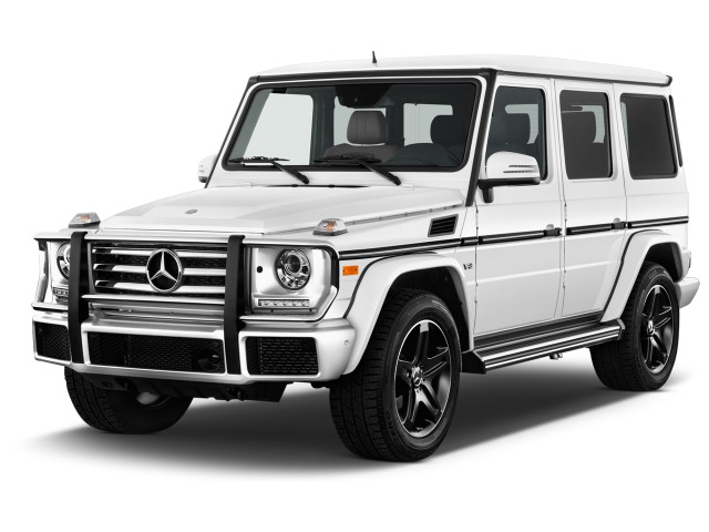2017 Mercedes-Benz G Class G550 4MATIC SUV Angular Front Exterior View