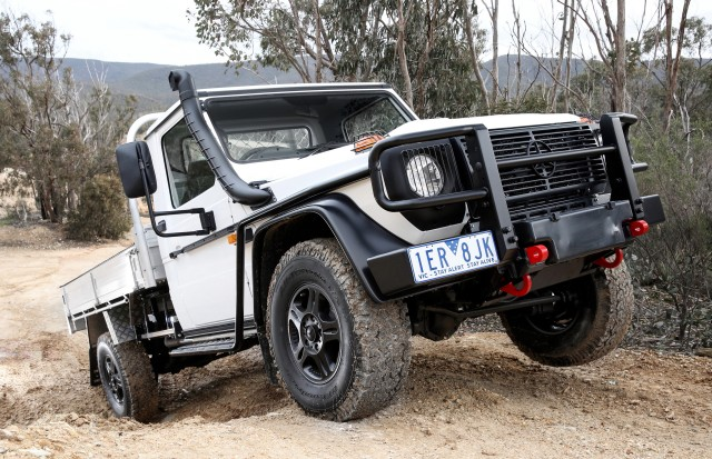 2017 Mercedes-Benz G-Class Professional Cab Chassis