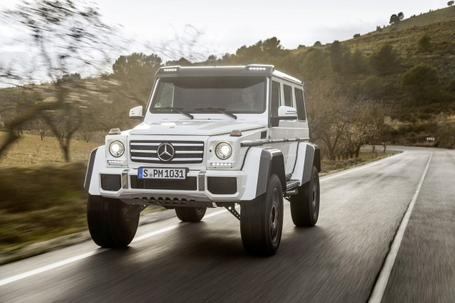2017 Mercedes Benz G Class Preview