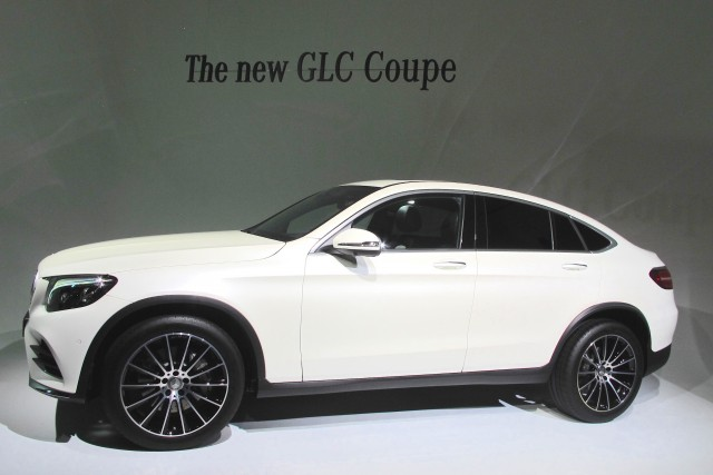 2017 Mercedes-Benz GLC Coupe, 2016 New York International Auto Show