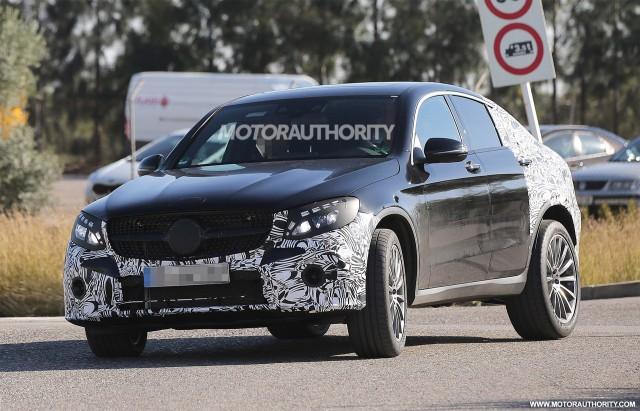 2017 Mercedes-Benz GLC43 Coupe spy shots - Image via S. Baldauf/SB-Medien