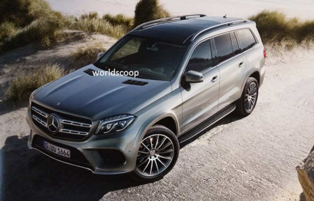 2017 Mercedes-Benz GLS leaked - Image via Worldscoop