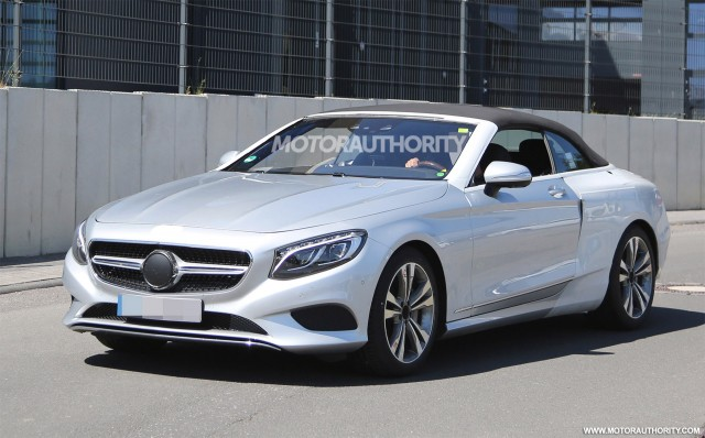 2017 mercedes benz s class cabriolet teased again. Black Bedroom Furniture Sets. Home Design Ideas
